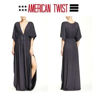American Twist Sz S Maxi Lounge Dress Coverup